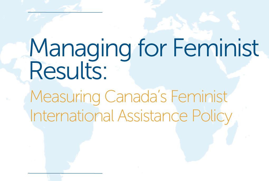 managing for feminist results