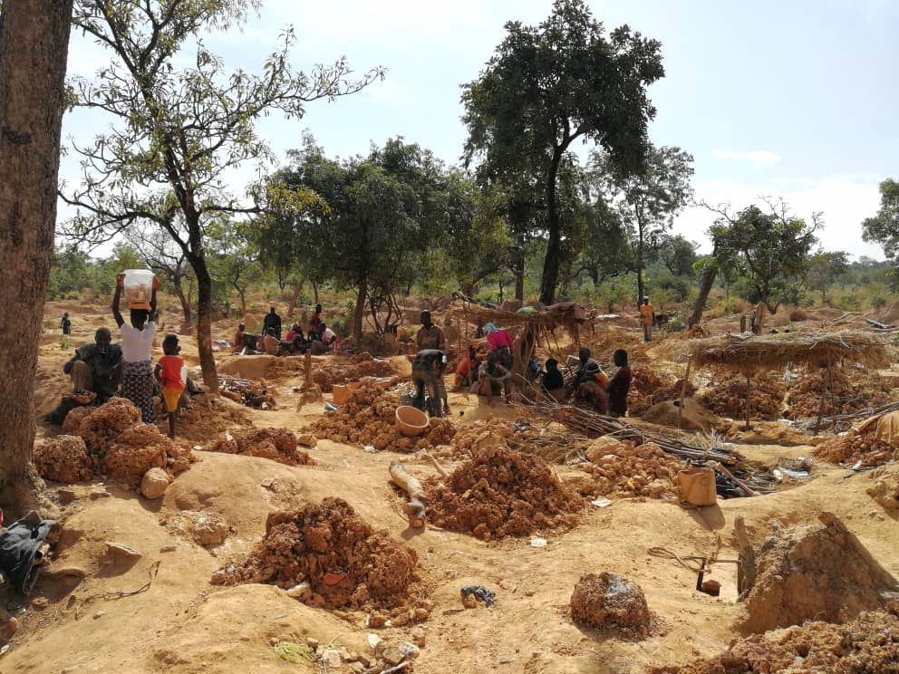 Artisanal mining sector
