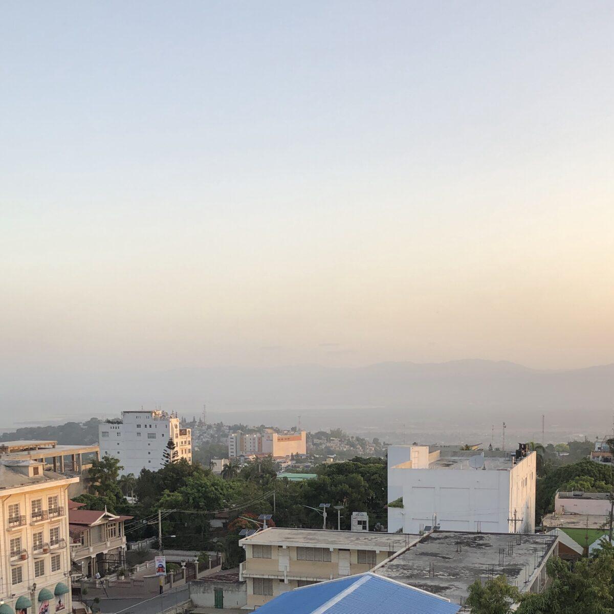 Rooftops in Haiti