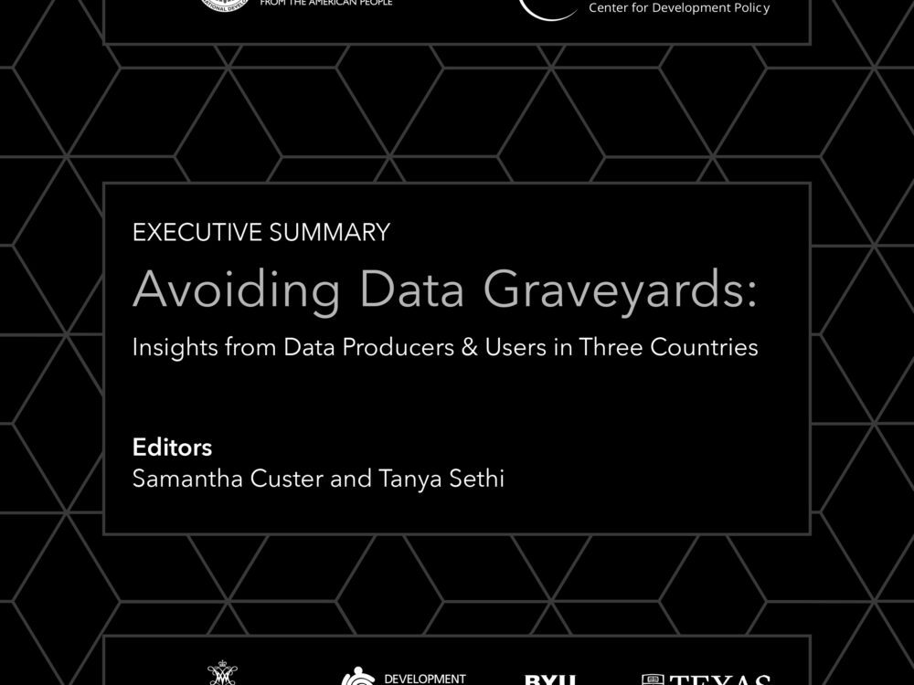 Avoiding Data Graveyards, Executive Summary