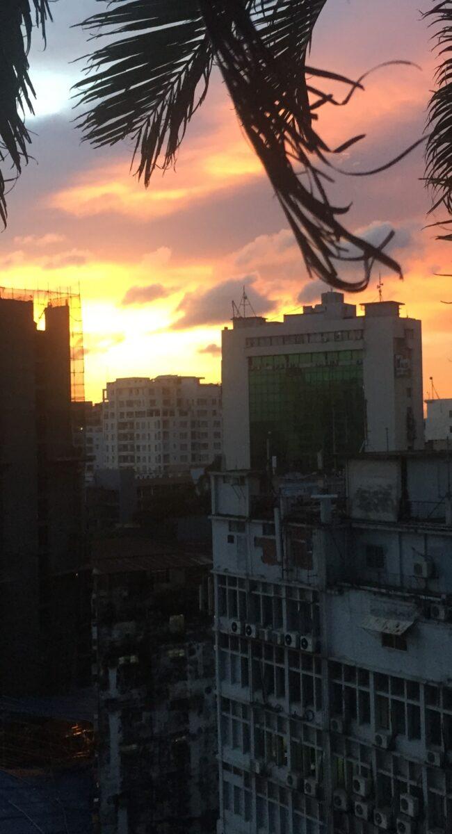 Sunset in Bangledesh