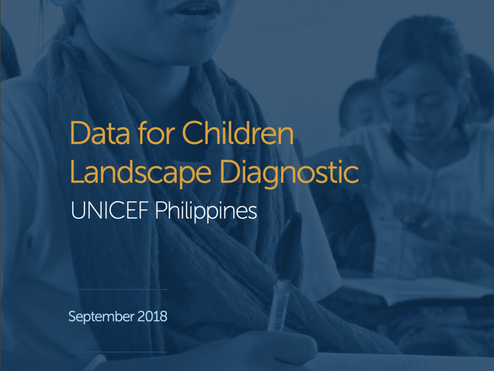 UNICEF Data for Children: Philippines