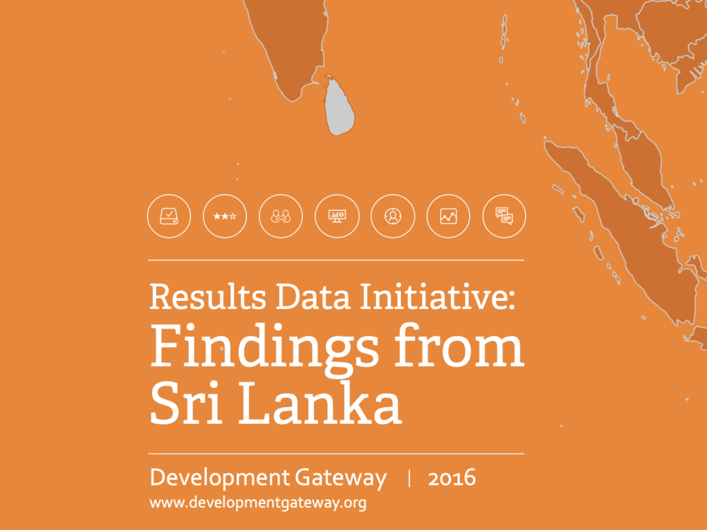 Results Data Initiative: Sri Lanka