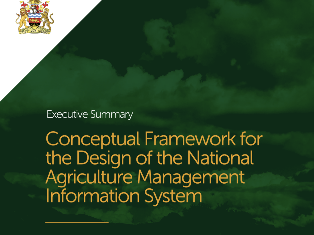 National Agriculture Management Information System (NAMIS) Executive Summary