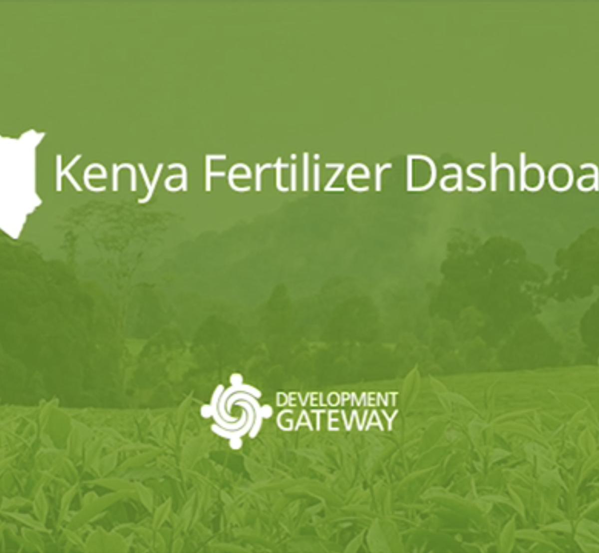Kenya Fertilizer Dashboard